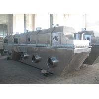 China Hot Air Type Food Industry Vibrating Fluid Bed Drying Machine With Mirror Finished on sale