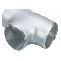 China Duplex Steel UNS S31803 ASME B16.9 48 Std Stainless Steel Pipe Reducer Tee on sale