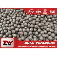 China Hot rolling B2 matrial  SAG mill grinding balls for Cement Plant wholesale