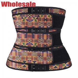 China Tummy Cincher Shapewear 3 Belts Waist Trainer Tummy Control Shaper Corset wholesale