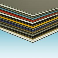 Quality 3 Coats PVDF Aluminum Sandwich Panel 2000mm Width With Thermal Insulation for sale