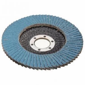China Zirconium Oxide Abrasive Tool Flap Abrasive Grinding Wheel For Metal / Wood on sale