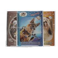 China Cute Souvenir Gift 3D Lenticular Notebook A4 Size Offset UV Printing wholesale