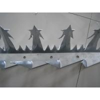 Buy cheap Metal Garden Security Anti Burglar Fence Spikes Silver Color from wholesalers