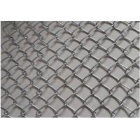 Buy cheap Black Plain Woven Stainless Steel Mesh Conveyor Belt High Strength Chain Edge from wholesalers