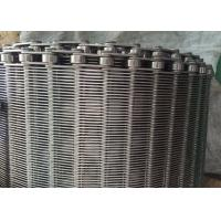 China Stainless Steel Flexible Flat Wire Mesh Conveyor Belt For Bread Industry wholesale