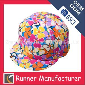 China Buy Snapback Hats Floral Printing wholesale