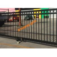 China Remote Control Sliding Gate / Driveway Automatic Security Gates Factory wholesale