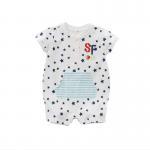 China Unisex1 Piece Infant Baby Clothes 0-24M Size Breathable Eco Friendly wholesale