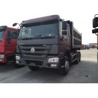 Buy cheap Automatic Dump Sinotruk Howo Dump Truck , Commercial 10 Wheeler Dump Truck from wholesalers