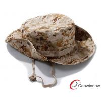 China Outdoor Reversible Fisherman Bucket Hat Military Style Hats For Summer wholesale