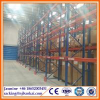 China Logistic equipment display rack /warehouse racking system wholesale