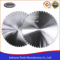 Wholesale Laser Welded Diamond Wall Saw Blades Reinforced Concrete Cutting with High Lifetime from china suppliers