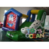 Quality Kids Inflatable Bouncer Combo Indoor Puppy Dog Inflatable Bounce Castle With for sale