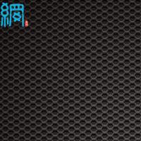 China Hexagonal hole speaker grill mesh (perforated sheet) wholesale