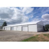 China Unique 35x50m Assembly Heavy Duty Tents With Roller Shutter Door wholesale