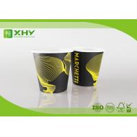 Quality 6oz 80mm Top Eco Friendly Takeaway Coffee Single Wall Paper Cups with Lids By for sale