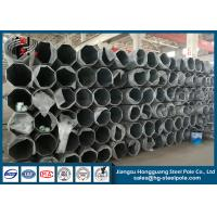China 68KV Philippines Steel Tubular Pole For Transmission Line Project wholesale