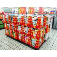 China Cardboard Full /half Pallet Displays for Packaging Stock Counter Box wholesale
