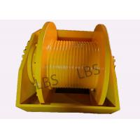 China Customization Hydraulic Crane Winch 140KN 180KN For Workover / Oil Rig wholesale