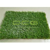 Anti - UV Landscape Decoration Natural Looking Artificial Grass For Home Lawns