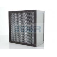 China SUS304 Frame Clean Room HEPA Air Filter H13 With High Temperature Resistance Panel wholesale