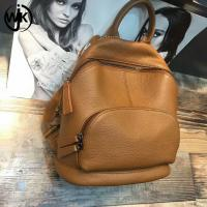 China Simple design shoulder bag for outdoor women backpack back pack luxury backpack genuine leather wholesale