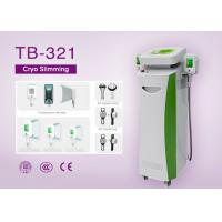 China Five Handle Cryo Slimming Machine for Cellulite Reduce / Fat Freezing / RF Face Lifting on sale
