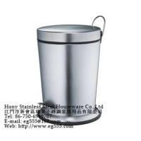 China Stainless steel trash bins wholesale