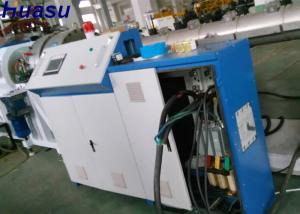 China PE Plastic Solid Wall Pipe Extrusion Line / Water Disposal Pipe Extrusion Line Machines on sale
