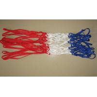 Wholesale Red/Blue/White 3 Color PP Basketball Net from china suppliers
