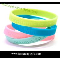 China Christmas gift custom silicone wristband / bracelet / rubber band for kids wholesale