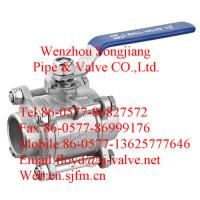 China butt weld ball valve wholesale
