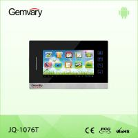 "Quality 7"" Metal Shell TCP/IP Android Video Door Intercom Indoor Monitor JQ-1076T for sale"