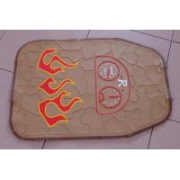 China Logo Printed Non Slip Rubber Car Mats , Personalized Car Floor Mats wholesale