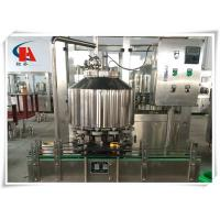 China Carbonated Soft Drink Bottling Machine , Bottling Line Equipment 0.4Mpa Heating Steam Pressure wholesale