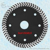 China Arrow Turbo Saw Blade for Cutting Concrete Brick and Hard Stone - DSSB15 wholesale