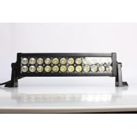 China IP67 13.5 Inch / 72W 4x4 Offroad Car Straight Double Row Epistar Led Light Bar wholesale