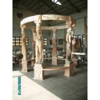 China Six Columns Carved Marble Arbour, Gazebo (LY-497) wholesale