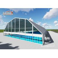 China 30m Width Polygon Outdoor Sports Tent With Aluminum Frame / PVC Fabric wholesale