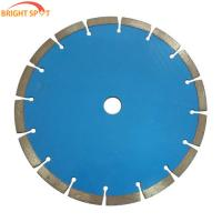 China Continuous Rim Diamond Saw Blades 110 Mm , Diamond Concrete Saw Blades 1mm Thick  wholesale