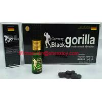 Wholesale Germany Black Gorilla Male Sexual Stimulant Enhancement Product 10 Pills*6800mg from china suppliers