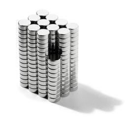 China China manufacturer flat disc magnet sintered ndfeb D4x1mm small ndfeb magnets wholesale