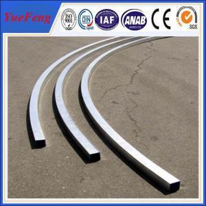 China aluminium pipe 6061 guangzhou port / cnc tube bending service / 15mm aluminum tube wholesale