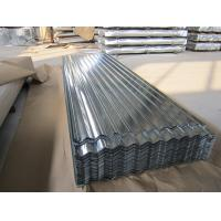 China SGCC, G550, JIS G3302 steel Regular Spangle Galvanized Corrugated Roofing Sheet / Sheets wholesale