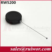 China Anti Theft Pull Box Retractable Tether Cord Round Shaped For Product Positioning wholesale