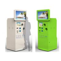 China Self Bottle Recycling Machine Totem Touch Kiosk With Touch Screen Standing wholesale