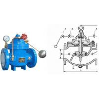 China Water Tank Float Control Valve Ductile Iron with Stainless Steel Floating Ball wholesale