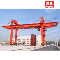 China 10t 50t double beam rmg model gantry crane wholesale