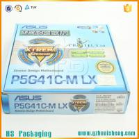 Full color printed corrugated box for eletronic packaging